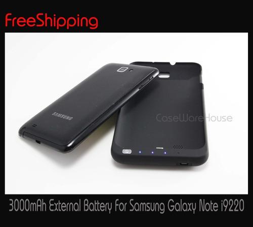 pedido : bateria externa 3000mah  protector galaxy note n700