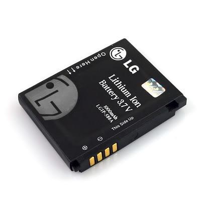 pedido bateria lg km900 lgkm 900 original 1000mah