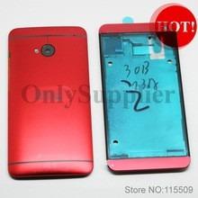 pedido carcasa completa htc one m7 color  rojo
