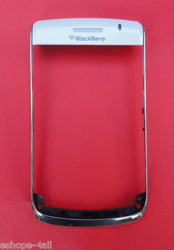 pedido carcasa frontal original blackberry 9700 blanco
