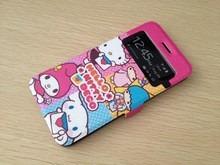 pedido case estuche case iphone 6 4.7   hello kitty flip