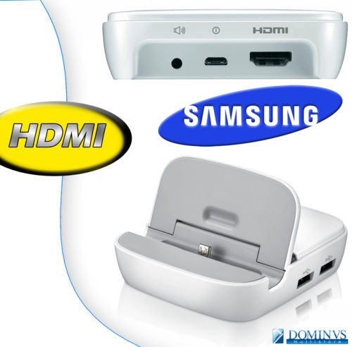 pedido dock station cargador note 3  hdmi usb original n9000