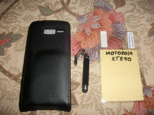 pedido estuche motorola xt890+mica pantalla+stylus lapiz
