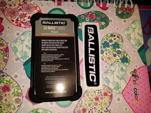 pedido estuche protector case ballistic g2 shell maxx