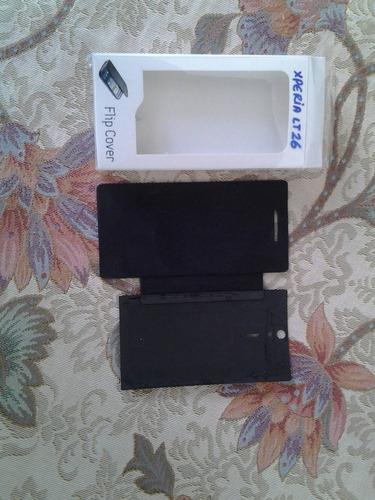pedido flip cover xperia lt26i color negro