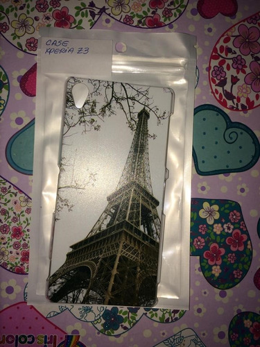 pedido  hard case protector xperia z3 paris torre effell