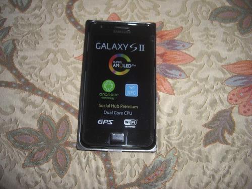 pedido nuevo samsung galaxy s2 i9100 sistema nfc libre