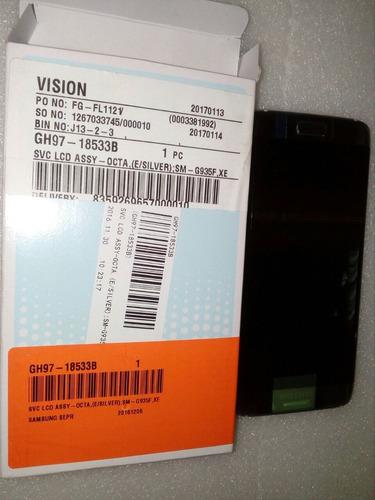 pedido pantalla s8 plus sm-g955 con el 20% (s/258)