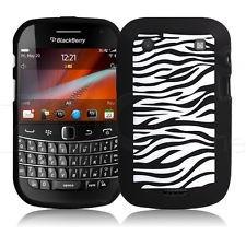 pedido silicona  blackberry 9900 zebra negro