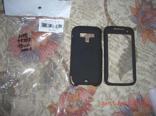 pedido silicona negro htc touch pro2 t7373 alta calidad