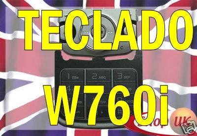 pedido teclado para sony ericsson w760 w760i