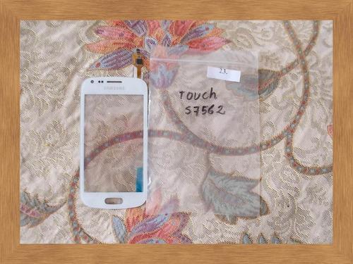 pedido touch screen tactil samsung galaxy duos s7562 blanco