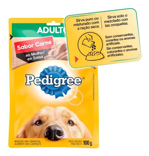 pedigree alimento húmedo perro adulto x 54 sobres