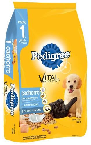 pedigree cachorro sano crecimiento 17 kg envio todo el país