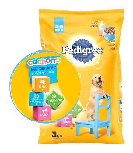 pedigree combo alimento perro cachorro