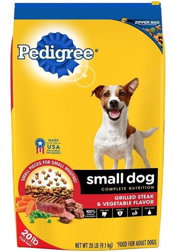 pedigree razas pequeñas alimento - perrarina  9kg