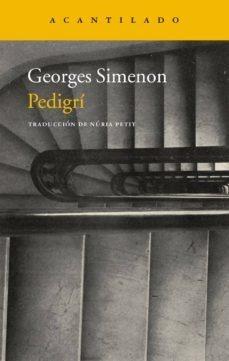 pedigri, georges simenon, acantilado