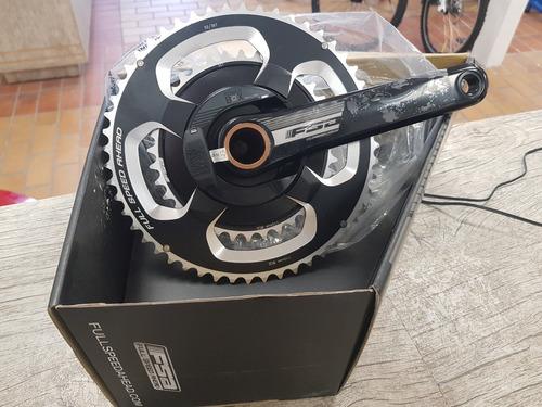 pedivela de potencia fsa powerbox 175mm 52/36 aluminio