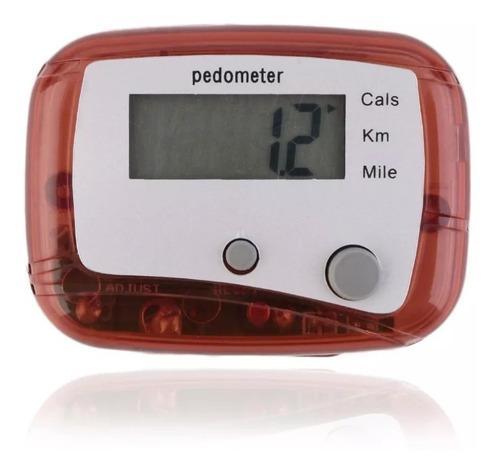 pedômetro digital - contagem km milhas calorias