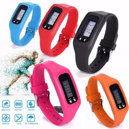 pedômetro km pulseira caloria aeróbio distância melhor preço
