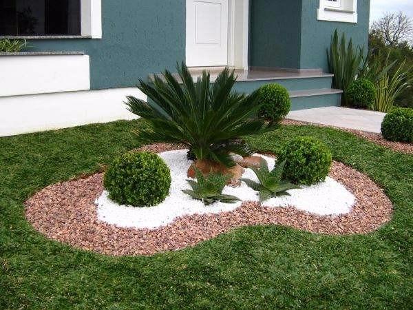Pedra branca granilha 20kg jardins decora es aqu rios - Fotos de jardines decorados ...
