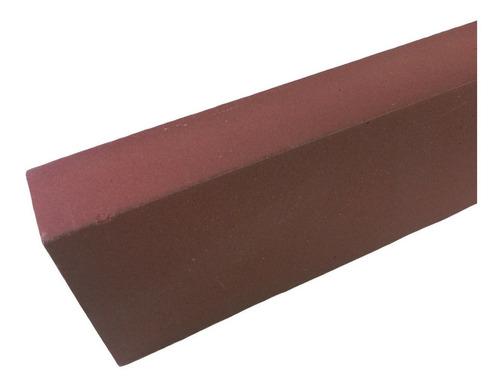 pedra de amolar fina #400 oxido aluminio temperada vaselina