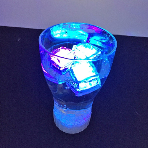 pedra gelo jogo luz luzes led coloridas iluminação festa dj