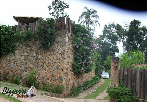 pedra moledo para muro