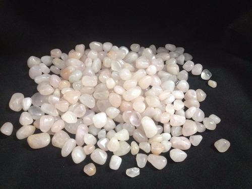 pedra rolada de cristal de quartzo rosa promoção ( rolado )