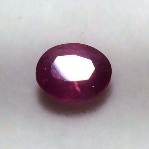 pedra rubi natural 9,5x7,8, frete grátis