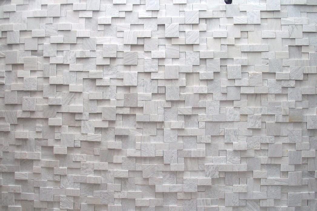 Pedra s o tom mosaico na tela revestimento de parede r - Revestimiento de parede ...