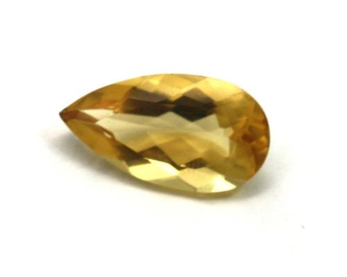 pedra topázio amarelo natural com 9klt p268