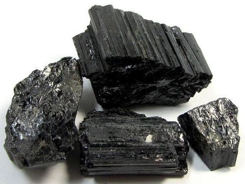 pedra turmalina negra 1 quilo cristal mineral natural oferta