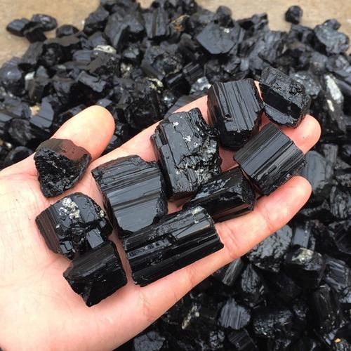 pedra turmalina negra 200g cristal mineral natural oferta