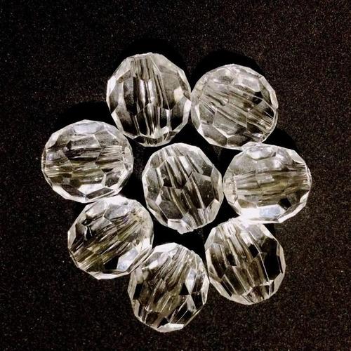 pedrarias cristal facetado acrílico 500gr 8mm melhor preço