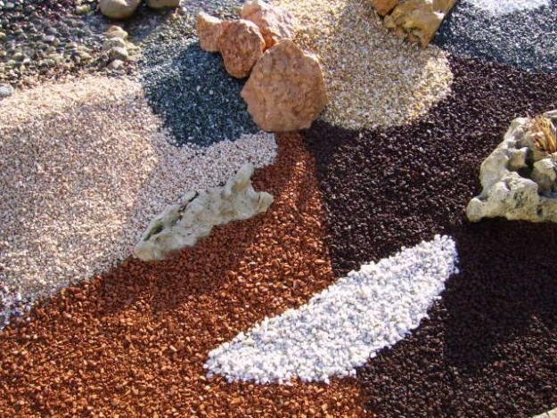 Pedras Colorida Decoraç u00e3o Para Aquários E Vasos De Plantas R$ 19,90 em Mercado Livre -> Decoração De Jardim Com Vasos E Pedras