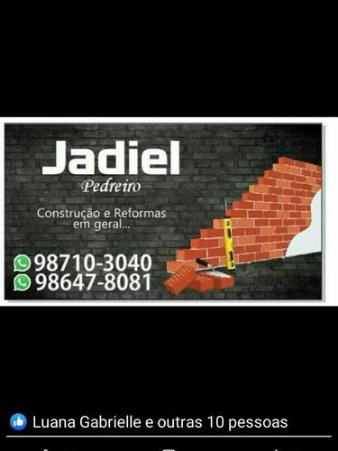 pedreiro profissional ,construçao , reformas e reparos
