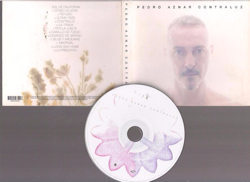 pedro aznar - contraluz - cd - by maceo