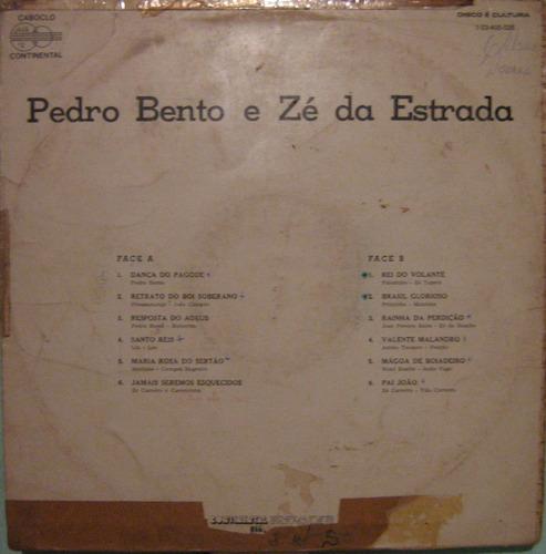 pedro bento & zé da estrada - p.bento & zé da estrada - 1976