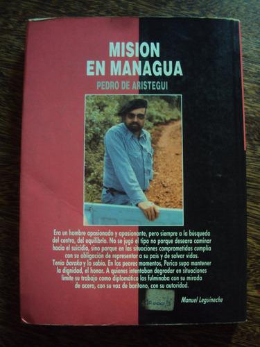 pedro de aristegui mision en managua nicaragua