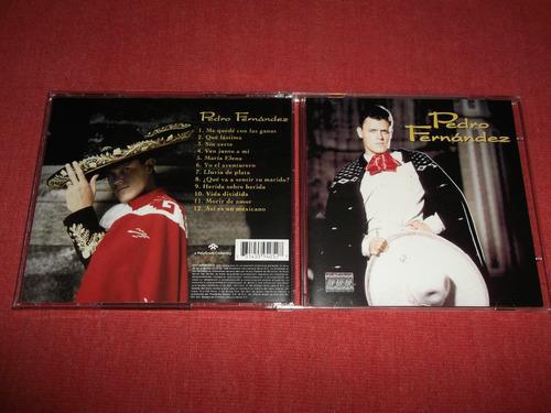 pedro fernandez - aventurero cd nac ed 1998 mdisk