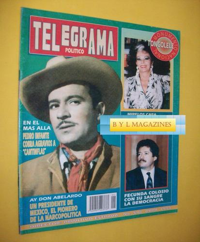 pedro infante revista telegrama 1994 cine mexicano tongolele