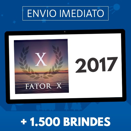 pedro superti - curso fator x 2018 + 1.500 brindes
