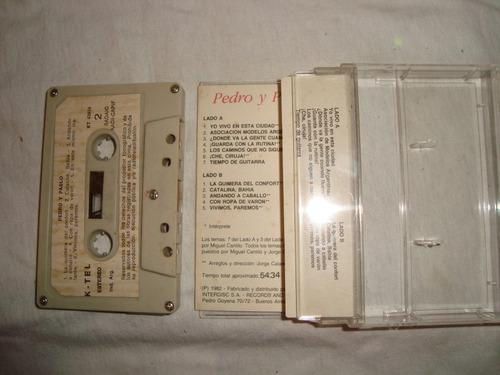 pedro y pablo  1982 cassette en caballito