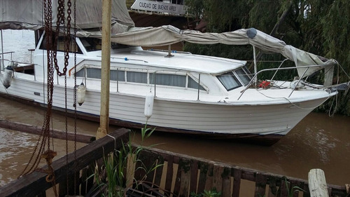 pedroni 10.20 crucero excelente estado de madera