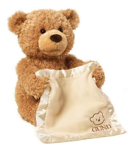peek a boo urso ted pelúcia musical canta mexe animado