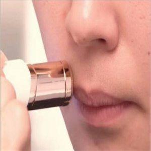 peeling facial mini afeitador de vello eléctrico depilador