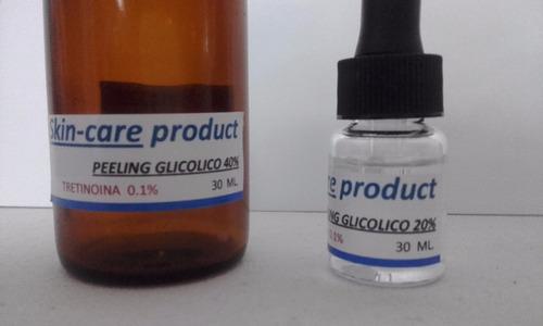peeling glicolico 20 40 y 65%