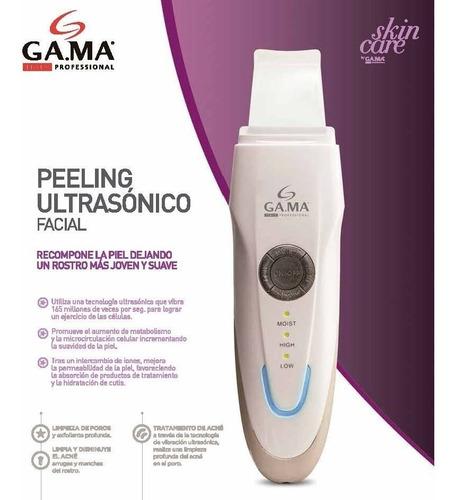 peeling ultrasonico facial gama skin care limpia y exolia