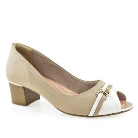 ebb35fb06 Sapato Peep Toe Comfortflex - Sapatos com o Melhores Preços no Mercado  Livre Brasil